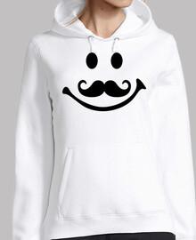 cara sonriente bigote