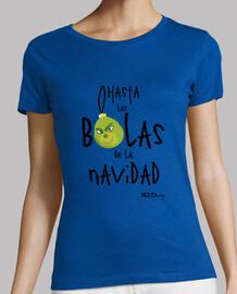 cara t-shirt donna natale t-shirt donna