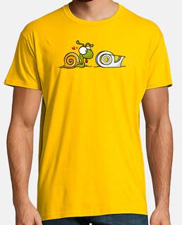 Caracol y celo - Camisetas Fiestas humor geek Freak cine TV musica