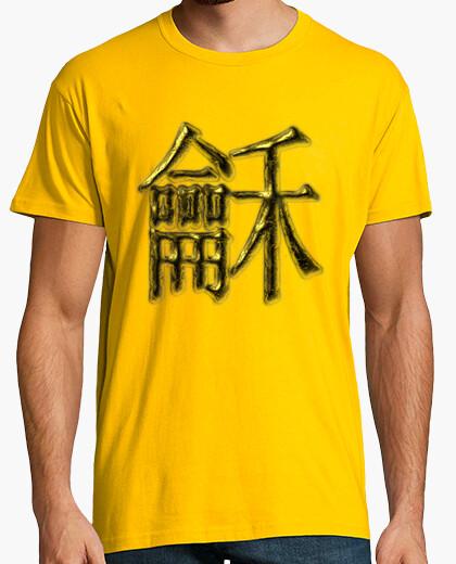 Camiseta Caracter Chino de la Paz y Armonía