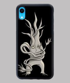 caractère effrayant arbre enchevêtré