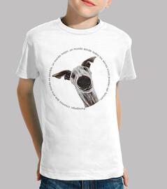 CaraDeGalgo-Camiseta Niño