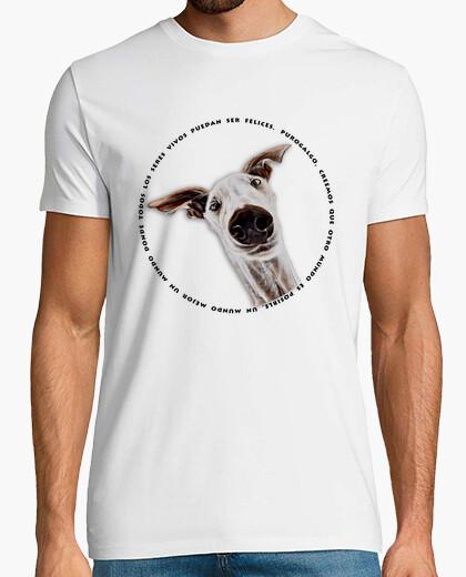 Caradegalgo-shirt boy mcblanco t-shirt