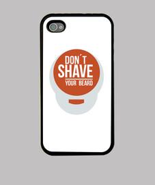 Carcasa iphone 4 para barbas