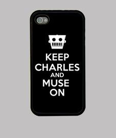 Carcasa Keep Charles and Muse on 02