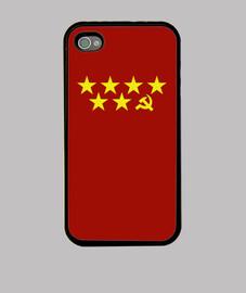 Carcasa Madrid roja