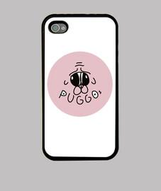 Carcasa Puggos Logo iPhone 4 / 4S