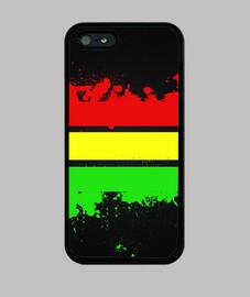 Carcasa Rastafari iPhone 5