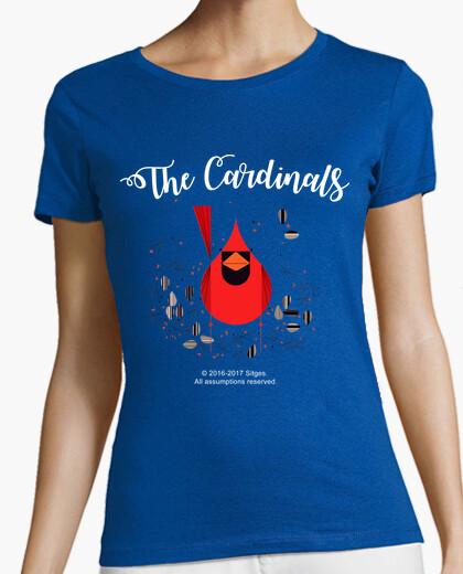 Camiseta Cardinals womens dark garment version