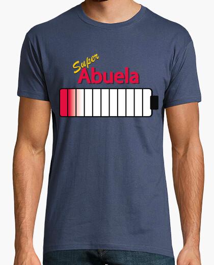 Camiseta Cargador de Bateria Super Abuela