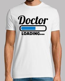 cargando médico