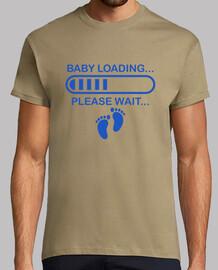 Cargando nuevo bebé chico