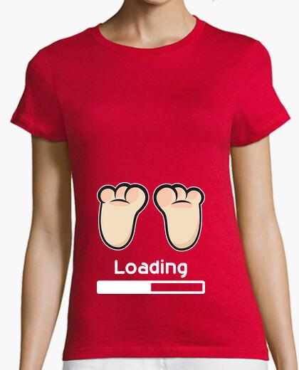T-shirt caricamento