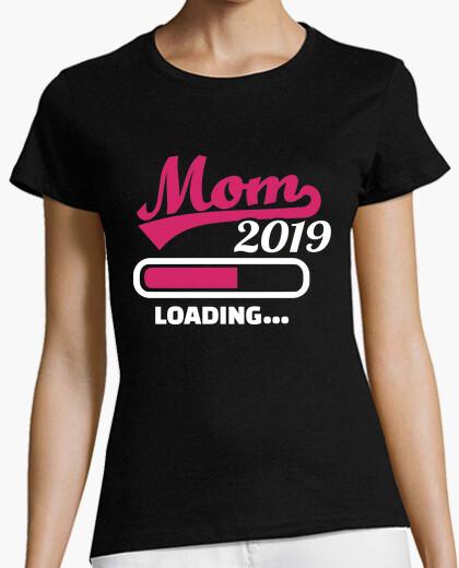 T-shirt caricamento della mamma 2019