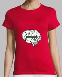caricamento della t-shirt cervello caricamento
