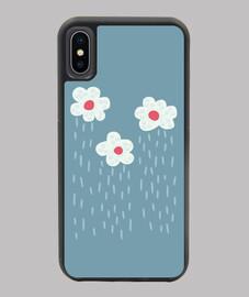 carino pioggia nuvole fiori tempo piovo