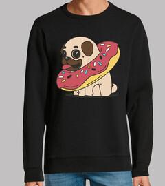 carlin chien carlino avec flotteur de b