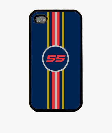 Funda iPhone Carlos Sainz Jr #55