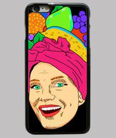 carnaval - étui iphone 6 plus, noir