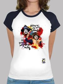Carnivales Camiseta Mujer