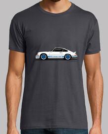 Carrera RS 2.7 con decoración azul