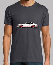 Carrera RS 2.7 con decoración en rojo