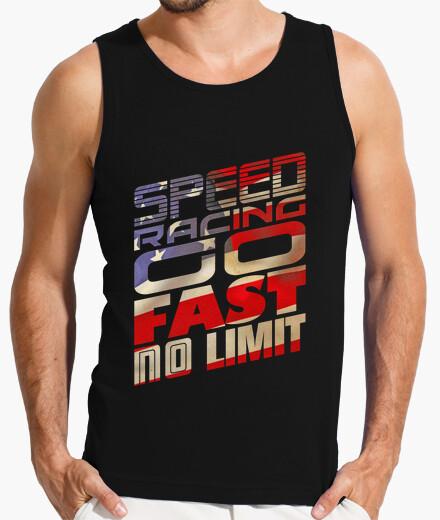 Camiseta carreras de velocidad - usa (hs)