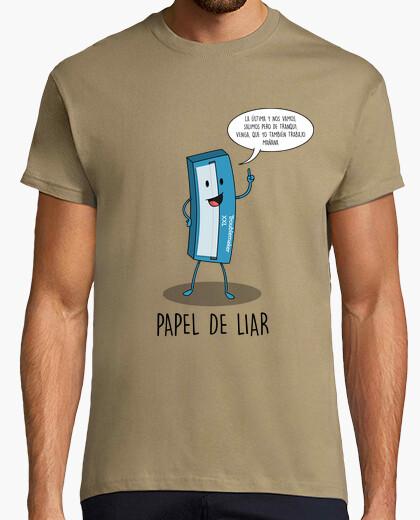 T-shirt carta da rotolamento