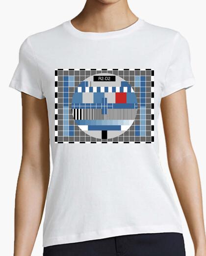 T-shirt carta di prova r2d2