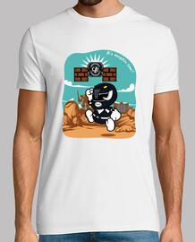 carta nera ranger t-shirt da uomo
