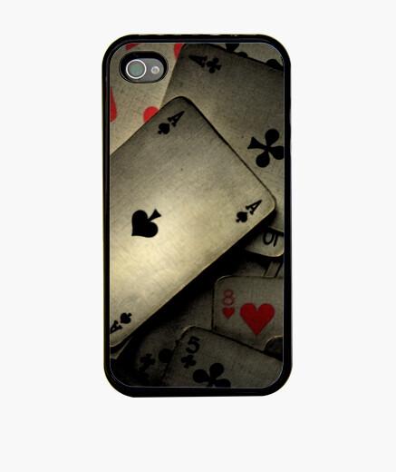 Funda iPhone Cartas de Poker