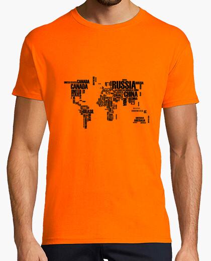 Tee-shirt Carte du monde