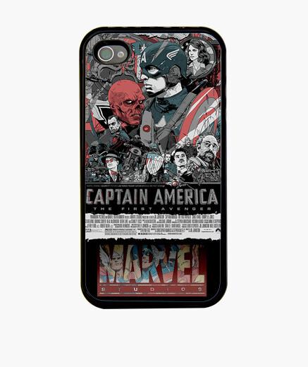 Funda iPhone Cartel Capitan America
