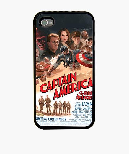 Funda iPhone Cartel Capitan America 2