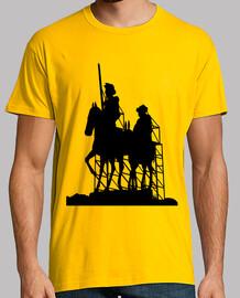 Cartel de carretera - Quijote y Sancho