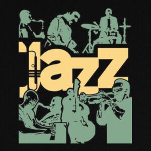 cartel de la banda de jazz syle T-shirts