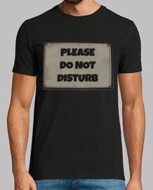 Cartel No molestar / Do not Disturb