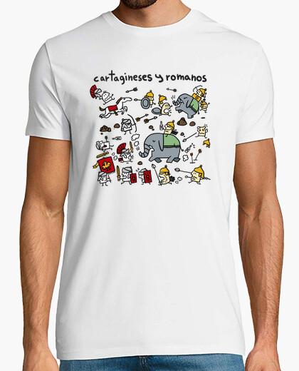 Tee-shirt carthaginois et les romains