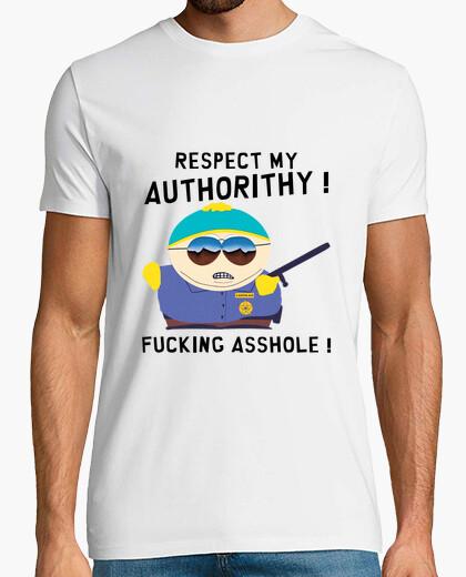 Tee-shirt Cartman Respect My Authorithy
