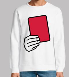 carton rouge arbitre
