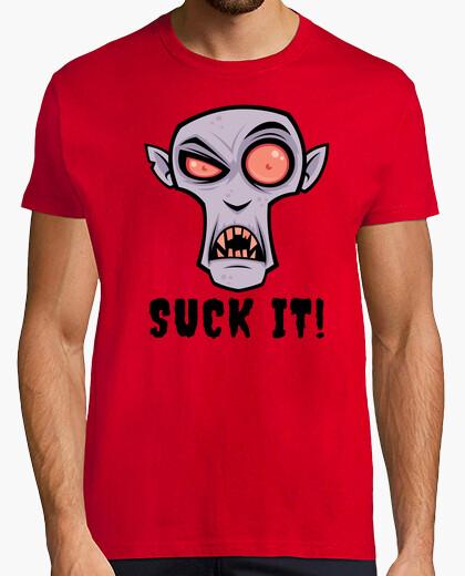 T-shirt cartone animato vampiro raccapricciante