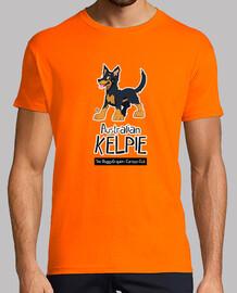 Cartoon Club Kelpie - Black Tan