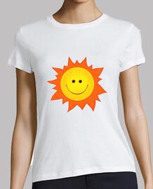 cartoon smiling happy sun