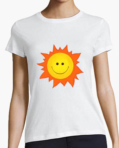 Cartoon Smiling Happy Sun t-shirt