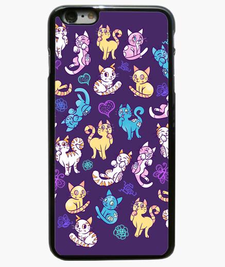 Coque Iphone 6 Plus / 6S Plus cas coloré téléphone chats