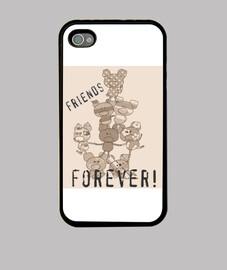 cas de l'iphone 4 - design porcs