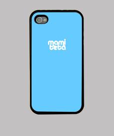 cas de l'iphone 4, bleu