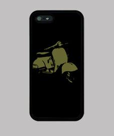 cas de l'iphone 5 - olive scooter