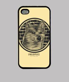 cas de l'iphone 6 - inkanvas: mur de loup