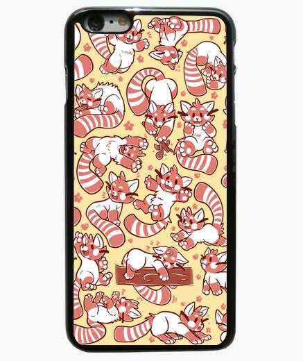 Coque Iphone 6 Plus / 6S Plus cas de propagation panda rouge téléphone